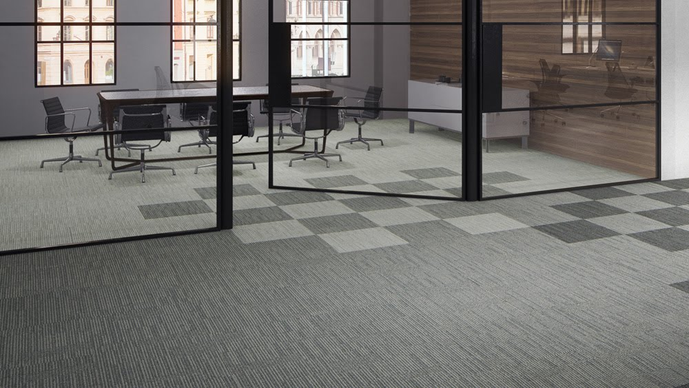 commercial carpet flooring in birmingham by caine