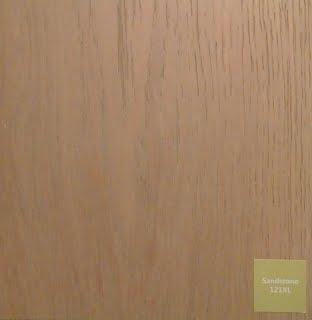 Mild oak flooring