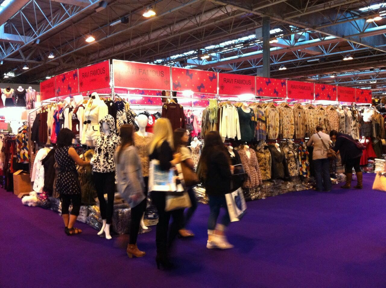 Flooring at the clothes show live